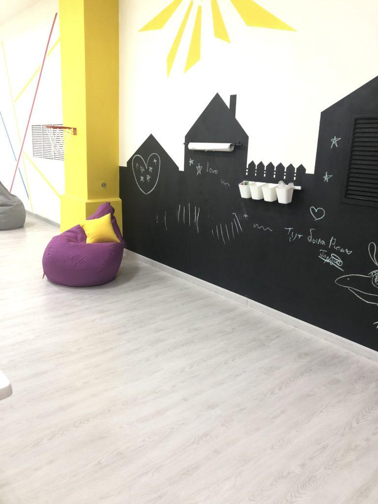 игровая комната песочница тюмень